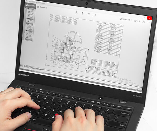 Expert technicians skilled at CAD design